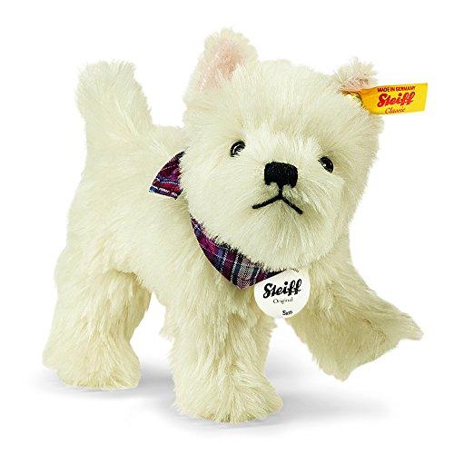 Steiff 033513 Sam West Highland Terrier weiß stehend 21 cm