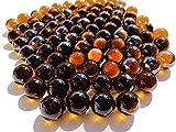 Dorado marrón dorado wh846bolas de cristal, 16mm de diámetro 500gr–Bolas Transparente Cobre farbene Goldene Marmota claras Deko bolas de cristal Decoración Cristal bolitas de Crystal King