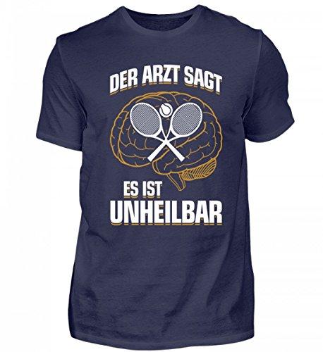 Tennis: es ist unheilbar - Geschenk Tennisspieler-in Tennis-Fan - Herren Shirt