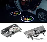 ZNYSTAR 2 Auto LED Projektor Tür Lampe Ghost Shadow Welcome Light-Laser-Beauty-Set für Mazda6 atenza 2014–2016