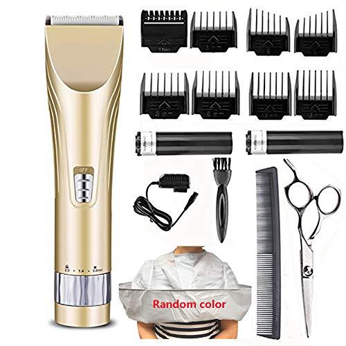 Haarschneider Profi Haarschneidemaschine Bartschneider Männer Präzisionstrimmer Hair Clipper Elektrische Wiederaufladbare Haartrimmer Set Trimmaufsätzen für Kinder und Herren.