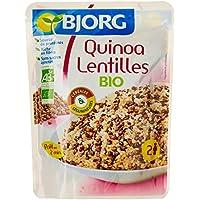 Bjorg Quinoa Lentilles Doy Pack 250 g - Lot de 3