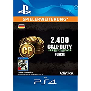 Call of Duty: Modern Warfare Remastered 2400 Points Edition [PS4 Download Code – deutsches Konto]