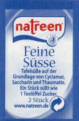 1x Natreen SÜßSTOFF-TABLETTEN - Nahrungstabletten, Kaffeetabs