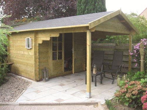 Holz-Gartenhäuser Farbe