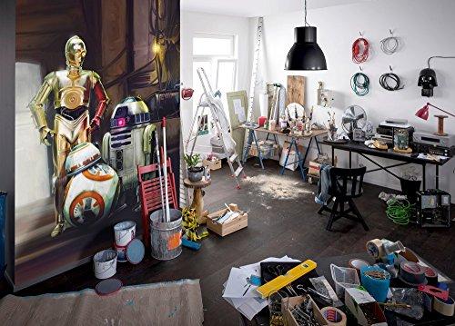 komar-star-wars-three-droids-r2-d2-c-3po-bb-8-wallpaper-mural-vinyl-multi-colour-4-piece