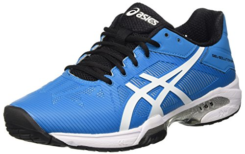 ASICS Gel-Solution Speed 3, Scarpe da Ginnastica Uomo, Blu (Blue Jewel/White/Black), 40 EU