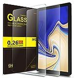 IVSO Samsung Galaxy Tab S4 T830/T835 Schutzfolie, 9H Härtegrad, Schutzfolie Glas Displayfolie Für Samsung Galaxy Tab S4 T830/T835 10.5 Zoll 2018 Tablet PC, (2 Packungen x)