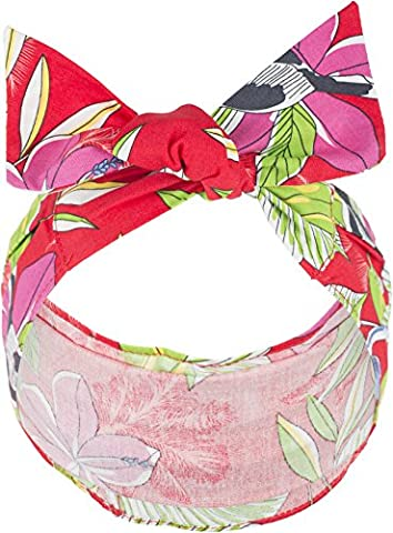 Küstenluder ALLYN Vintage Tropical TUKAN Hibiscus Pin Up HAARBAND Headband Rock