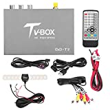 qiilu 1080P HD DVB-T2 auto Mobile Digital TV Box Ricevitore con antenna Tuner di RemotesReplaced