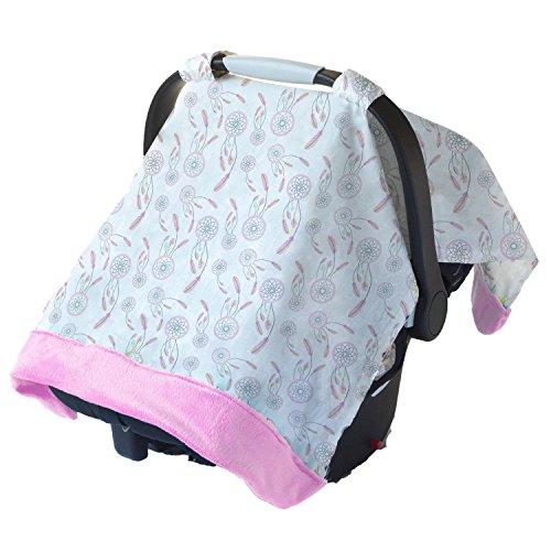 Preisvergleich Produktbild Itzy Ritzy Cozy Happens Musselin Kindersitz Himmel, Pink, Sweet Traumfänger