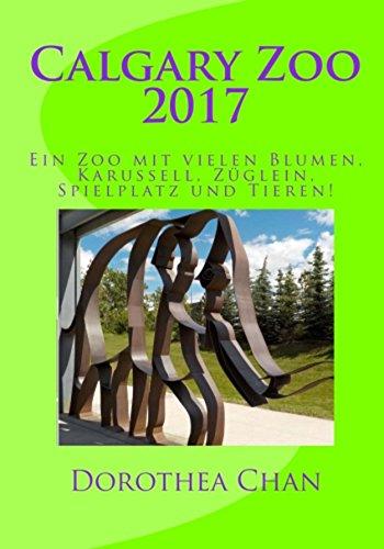 Tier-media-karussell (Calgary Zoo 2017: Ein Zoo mit vielen Blumen, Karussell, Züglein, Spielplatz und Tieren!)