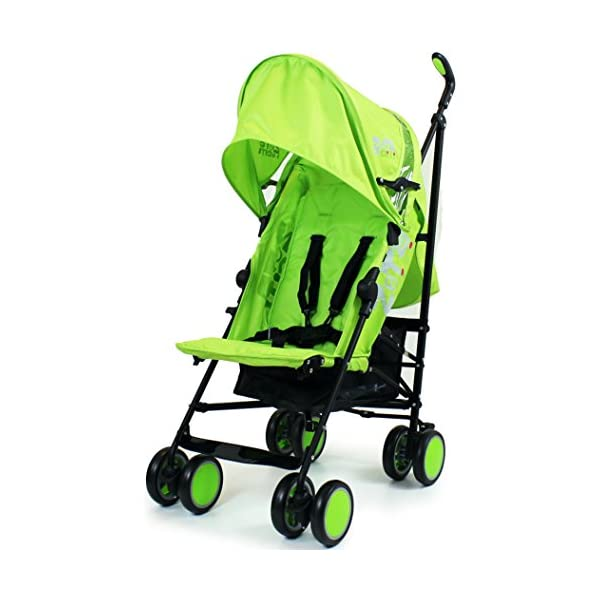 Zeta Citi Stroller Buggy Pushchair - Lime ZETA 12 Month FREE Warranty When Purchased and used from birth only. Warranty VOID If Purchased And Used For Babys Over 12 Months Lightweight stroller suitable for babies from Birth Umbrella fold for a compact folded size 2
