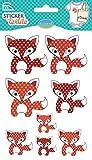 Unbekannt Aladine Fox Textil Aufkleber (8-teilig)