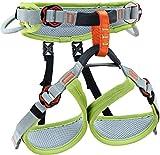 Climbing Technology Ascent, arnés Unisex Infantil, Verde/Gris, XXS