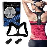 Posture Corrector,Haltungskorrektur,Haltungstrainer,Haltungskorrektur Geradehalter Schulter Rücken Haltungsbandage,für ein deutlich verbessertes Körperbewusstsein und eine gute Körperhaltung