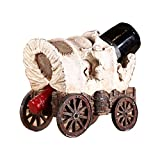 STAY TRULY Weinregal, amerikanisches Retro-Kreativ-Harz-Wagenregal, Ornamente auf dem Schreibtisch der Bar zu Hause, Geschenke für Freunde