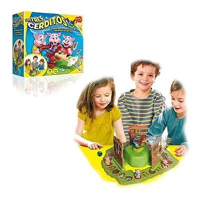 Imc Toys - Juego Los Tres Cerditos 43-7673 por Imc Toys