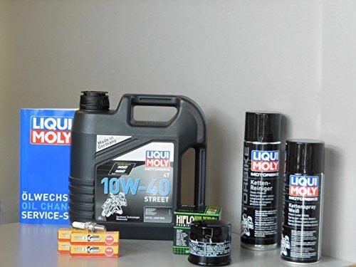 MotorFunSports Kit di manutenzione Suzuki GSR 600Olio Filtro olio candela Service ispezione oelwechsel
