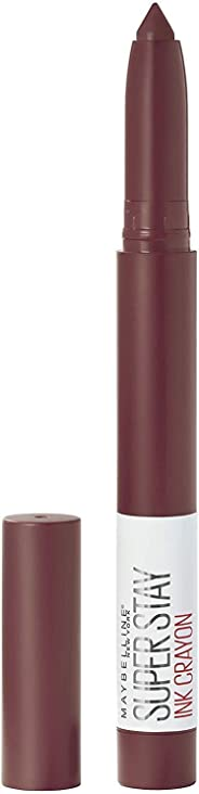 Maybelline Super Stay Crayon Lipstick, Live on Edge,