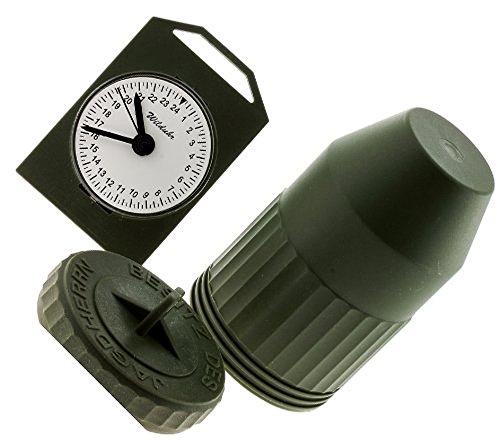 Jagd Wilduhr mit 24 Stundenanzeige, Made in Germany Clock, Neu und OVP m. Batterie Test