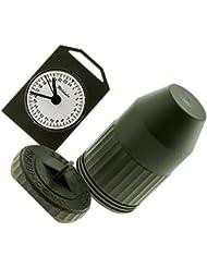 Caza Wild reloj con 24hora Mostrar, fabricado en Alemania Clock, Nuevo y original) M. batería