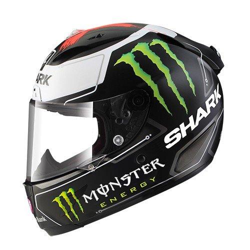Shark de Hark–Race–Casco de Moto R Pro Lorenzo Monster Mat