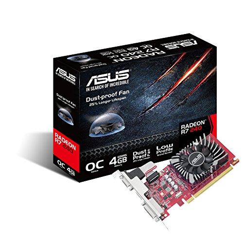 ASUS R7240-O4GD5-L Radeon R7 240 4 GB