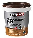 Toupret 451020 Mastic à Bois, Pâte, 1,25 kg