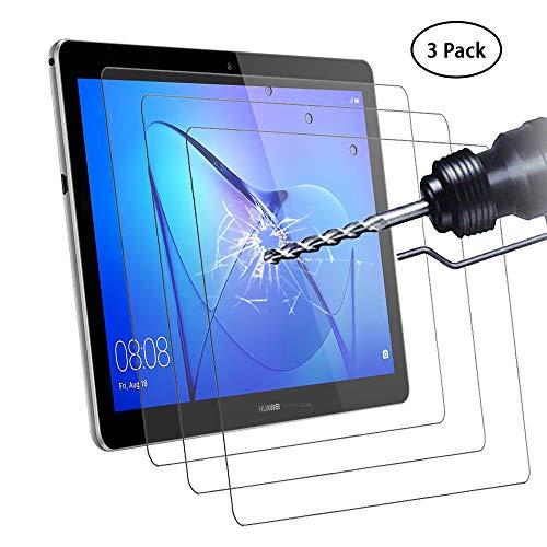 vetro temperato tablet Didisky Pellicola Protettiva in Vetro Temperato per Huawei MediaPad T3 10.0 inch