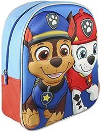 Preisvergleich für Cerdá 3D La Patrulla Canina Kinder-Rucksack, 31 cm, Blau (Azul)