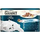 Gourmet Perle Katzenfutter 12er Pack (12 x 4 x 85 g) Beutel