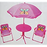 Ravishing Amazoncouk Kaemingk Garden  Outdoors With Fair Childrens Garden Furniture Patio Set Table Chairs  Parasol  Pink  Butterfly Design With Nice Garden Workshops Also Garden Tractors For Sale In Addition Garden Village And Home Vertical Garden As Well As The Garden Shed Pub Additionally Small Garden Pond Kits From Amazoncouk With   Fair Amazoncouk Kaemingk Garden  Outdoors With Nice Childrens Garden Furniture Patio Set Table Chairs  Parasol  Pink  Butterfly Design And Ravishing Garden Workshops Also Garden Tractors For Sale In Addition Garden Village From Amazoncouk