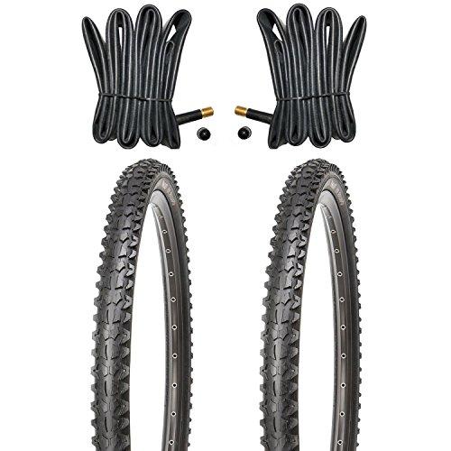 Kujo MTB Reifen Set 26x1.95 inkl. Schläuche mit Autoventilen, Mr. Ramapo
