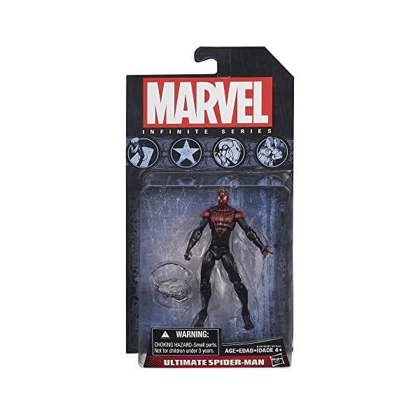 Marvel Infinite Series Ultimate Spider-Man 3.75 inch figure 2