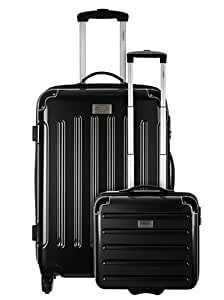 Valises, trolleys Torrente pour Mode homme, Modèle 9763 Valise + Porte Ordinateur - MESSINA NOIR