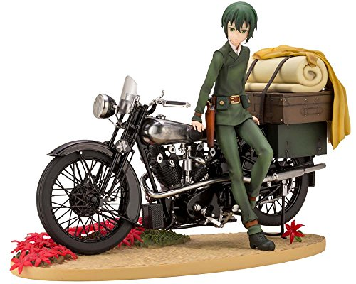 Kotobukiya ARTFX J Kino Kino's Journey - The Beautiful World - The Animated Series 1/10 Pre-Painted PVC Figure - Pre-painted Kit