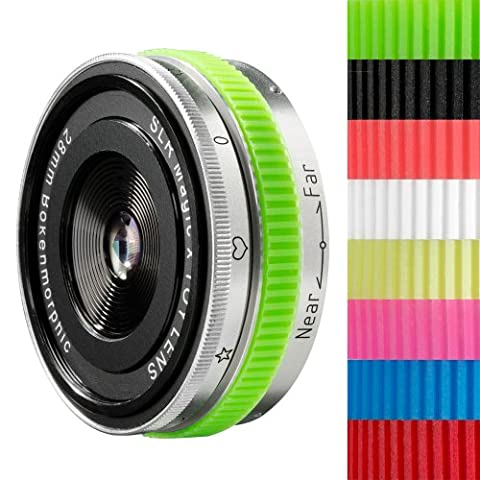 SLR Magic Bokehmorphic 28 mm Objektiv für Sony E-Mount/NEX Objektivbajonett
