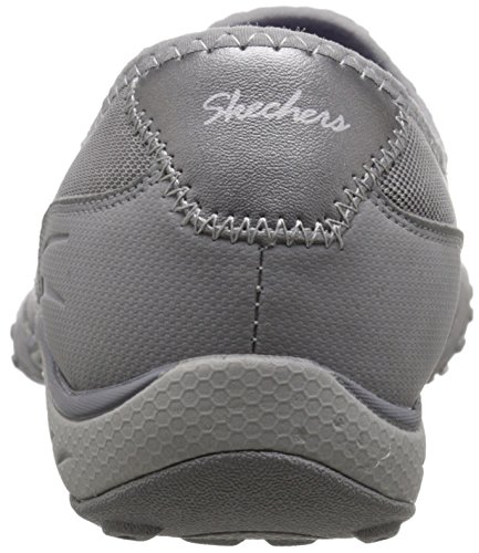 Skechers Breathe-easyallure, Baskets Basses femme Grey Mesh