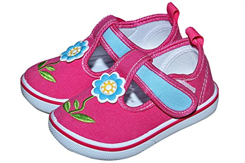 Baby Station Pre-Walker Sandal Shoes Light Weight Soft Sole Booties Sandal (18-24 Month, Pink)