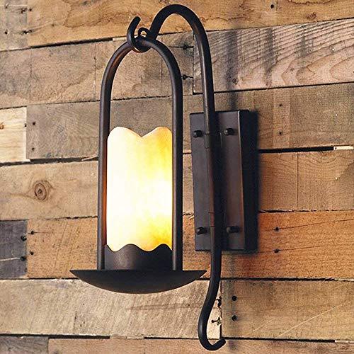 Pumpink lampada da parete per esterni retrò vintage sconce e27 luci in ferro battuto impermeabile per corridoio corridoio rustico portico cortile giardino scala