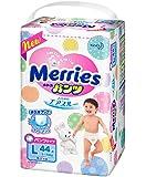 Japanese diapers panties Merries PL (9-14 kg)// Японские подгузники Merries PL (9-14 kg)