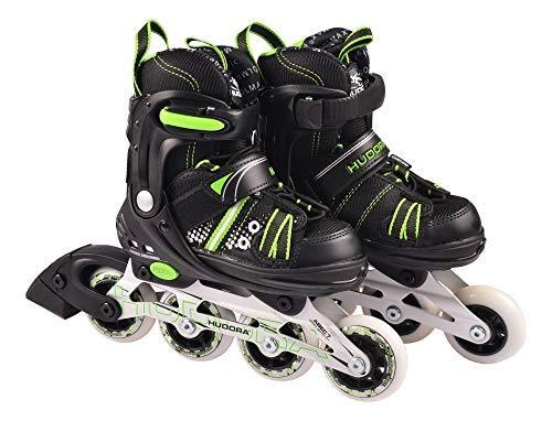 HUDORA Kinder Inliner RX-2 Inlineskates Rollschuhe Skates verstellbar Gr. 29-40, Größe:29-32