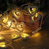 Catena Luminosa, Luci Led, LED Ghirlanda Luminosa, 2.2M 20 LED per la decorazione della bottiglia fai da te, barbecue, riunirsi, festa, matrimonio, vacanza, Interno, Esterno, Bianco Caldo