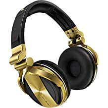 Pioneer HDJ-1500 Black,Gold Circumaural Head-band headphone - headphones (Circumaural, Head-band, 5 - 30000 Hz, 3500 mW, 108 dB, 32 Ω)