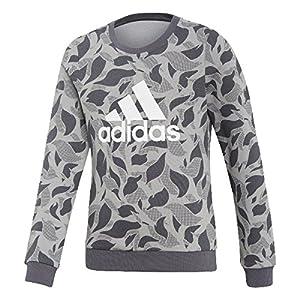 adidas Mädchen Crew Langarm Sweatshirt