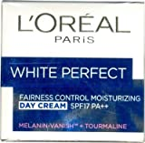 L'oreal Paris White Perfect Fairness Control Moisturizing Day Cream Spf17 Pa++