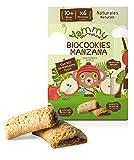 Yammy - Galletas Sin Azúcar Ecológicas Espelta Manzana 12 Meses Pack 6 x 150 gr - Total: 900 gr
