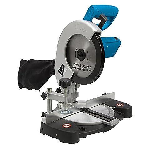 Silverline 262705 Compound Mitre Saw 210 mm, 1400 W