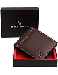 WildHorn Brown Men's Wallet (WH1256B)